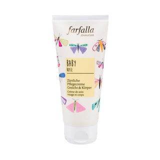 Farfalla baby rose tender cream for face and body 100 ml-Cream-beautylion.shop
