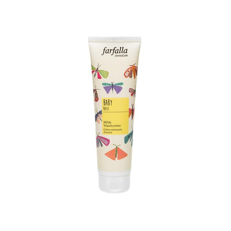 Farfalla rose baby face cleansing cream 145 ml-Cleanser-beautylion.shop