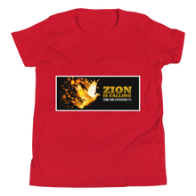 Load image into Gallery viewer, Zion Is Calling Come And Experience It Youth Unisex T-Shirt