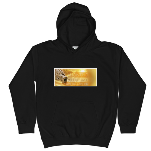 The Anointing Of God's Favor Changes Everything Unisex Youth Hoodie
