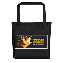 Load image into Gallery viewer, Zion Is Calling Come And Experience It Tote Bag