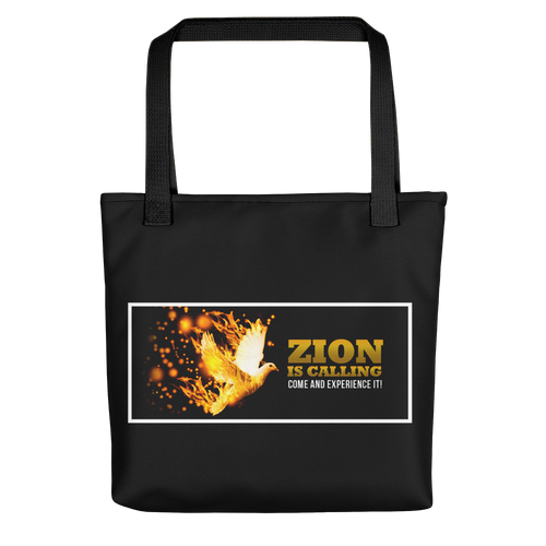 Zion Is Calling Come And Experience It Tote Bag
