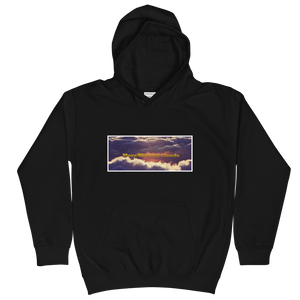 Move With The Clouds Unisex Youth Hoodie