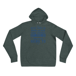 Never Focus On What You Are Going Through But Focus On Where You Are Going To Adult Unisex Hoodie