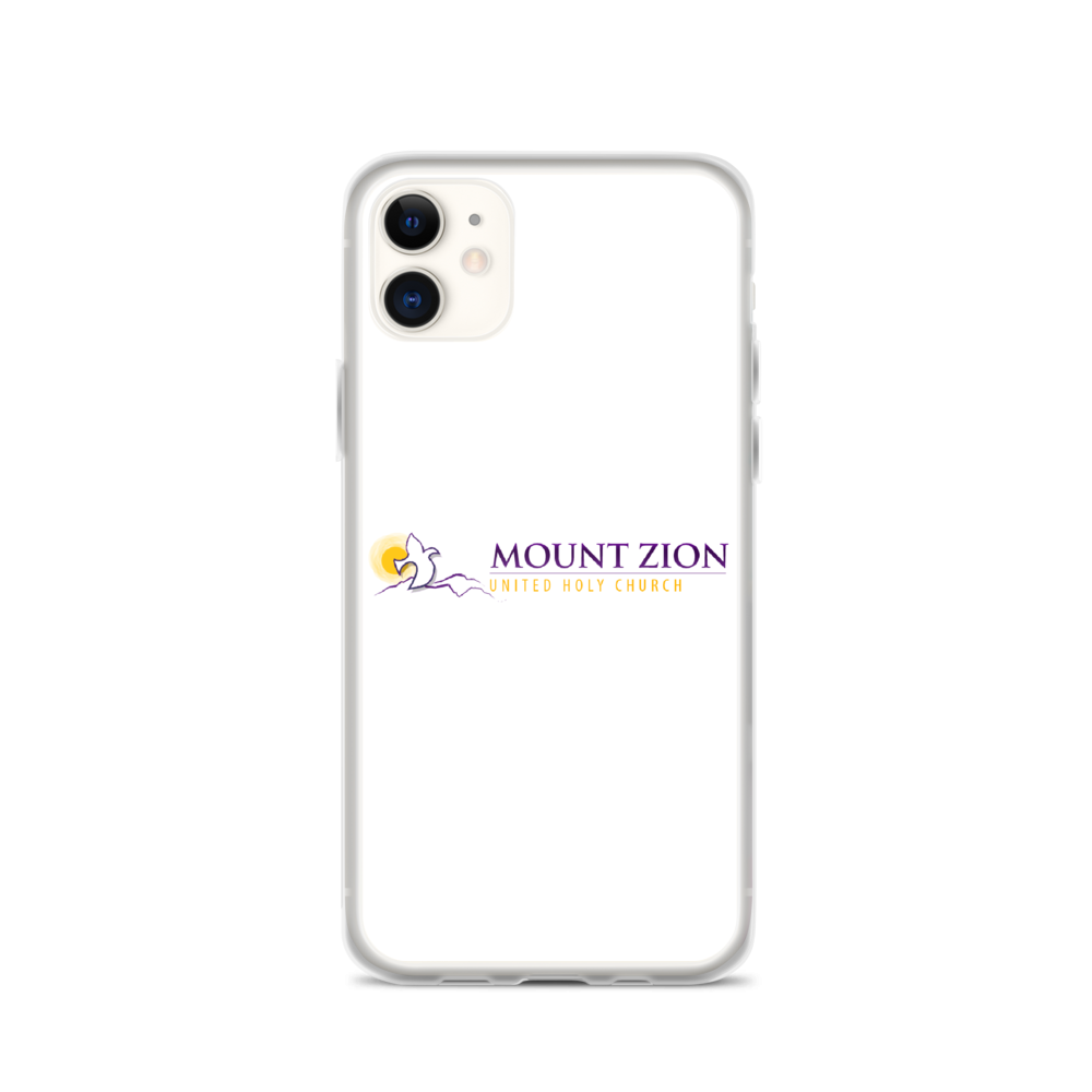 Mount Zion iPhone Case (White)