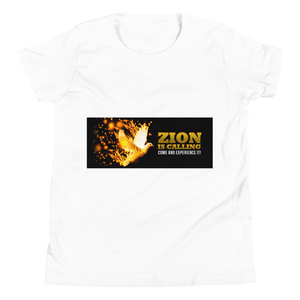 Zion Is Calling Come And Experience It Youth Unisex T-Shirt