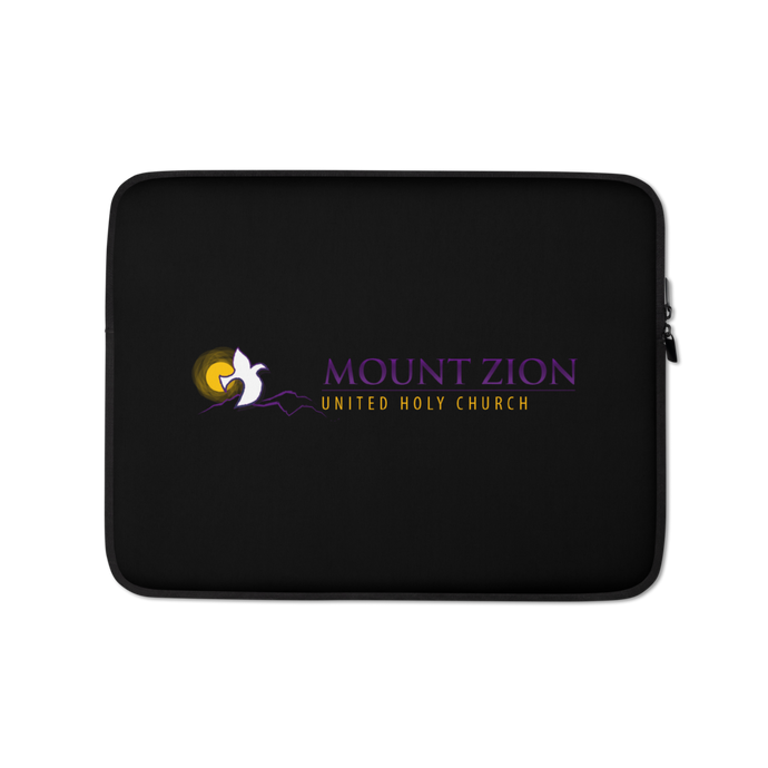 Mount Zion Laptop Sleeve