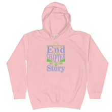 Load image into Gallery viewer, It's Just The End Of The Chapter Not The End Of My Story Unisex Youth Hoodie