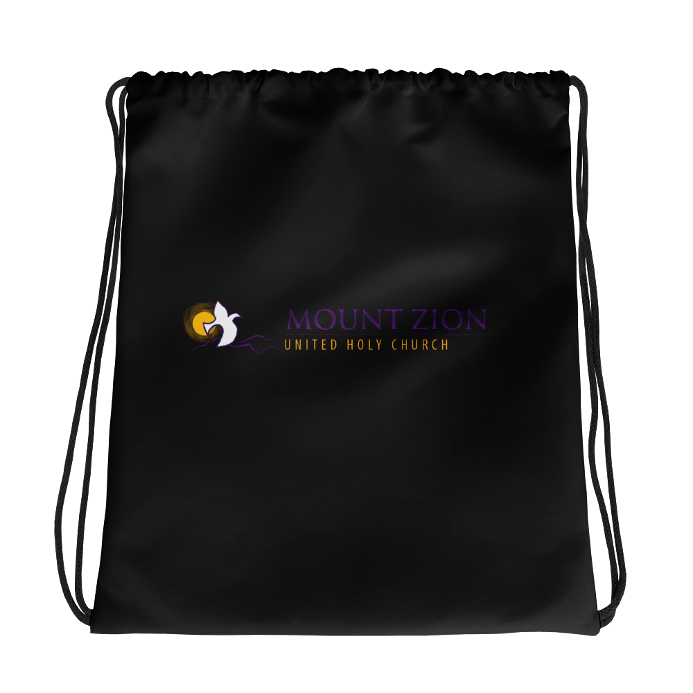 Mount Zion Drawstring Bag