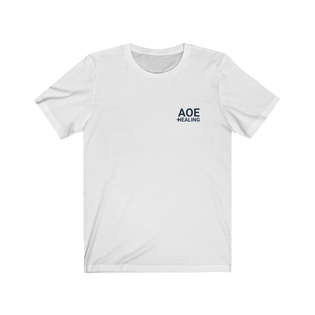 AoE Healing - Unisex Short Sleeve T-Shirt - Healthy Gamer Store