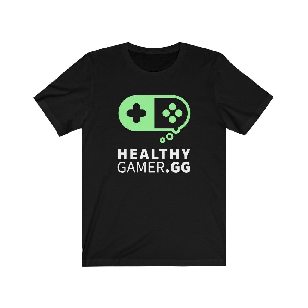 Healthy Gamer 2 - Unisex Short Sleeve T-Shirt - Healthy Gamer Store