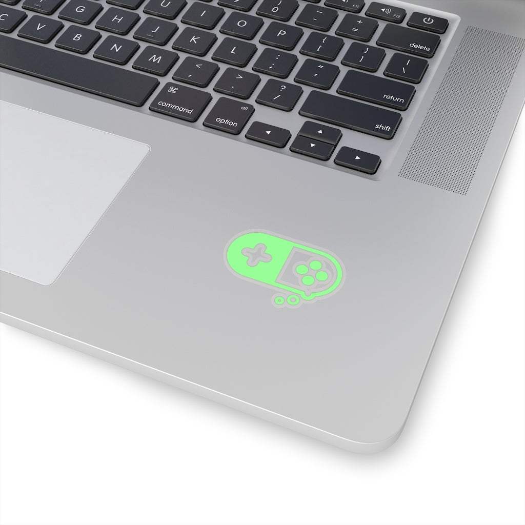 Healthy Gamer Green - Vinyl Sticker - Healthy Gamer Store