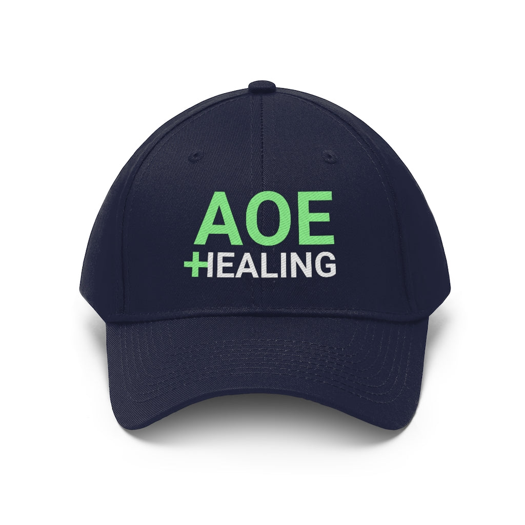 AoE Healing - Unisex Twill Hat - Healthy Gamer Store