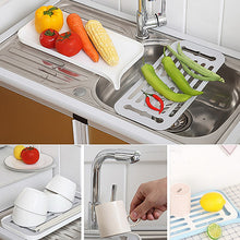 Load image into Gallery viewer, Plastic Dish Drainer With Tray
