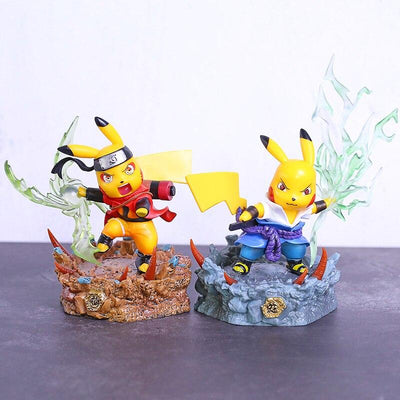Figurine Naruto collaboration Pokemon