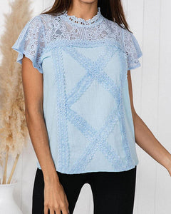 Lace Detail T-Shirt