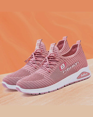 Colorblock Mesh Breathable Athletic Sneakers