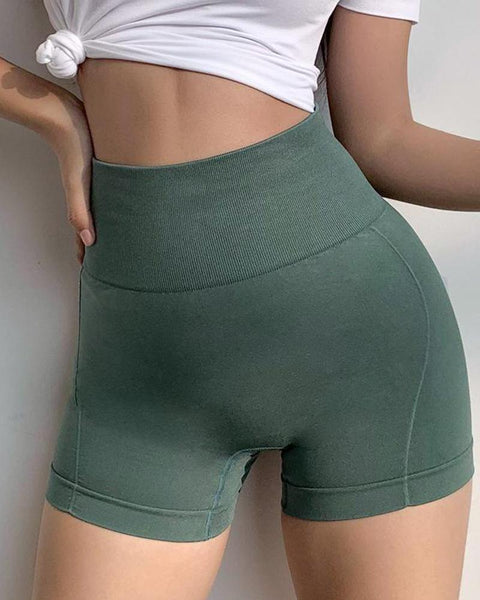High Waist Yoga Shorts