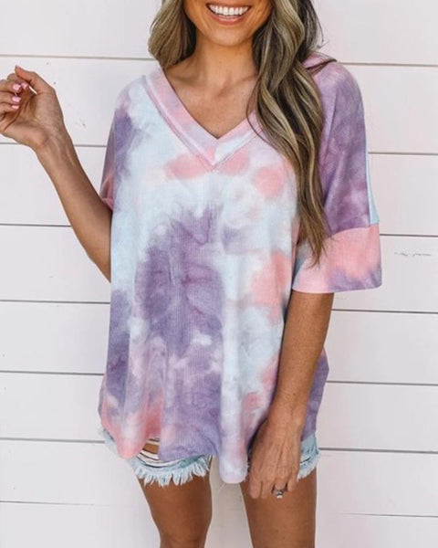 Tie Dye Loose Fit T-Shirt
