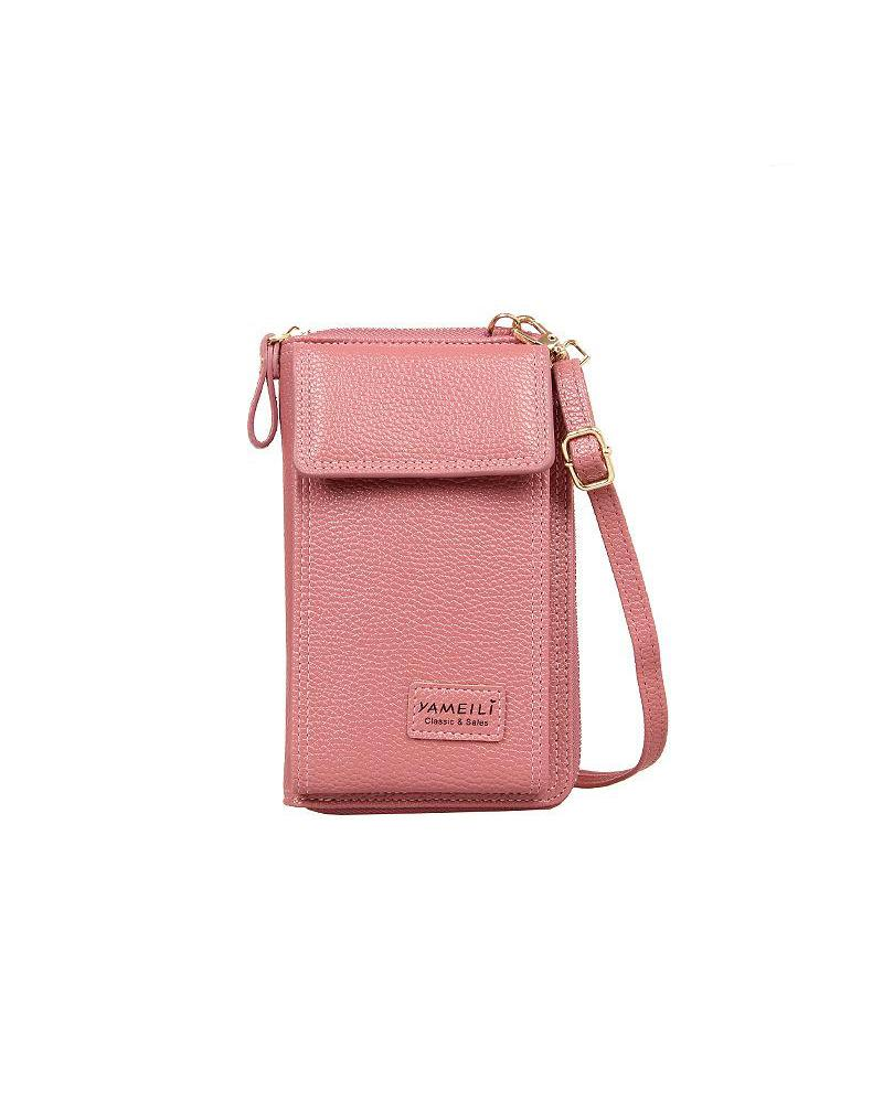 Velcro Closure Crossbody Bag