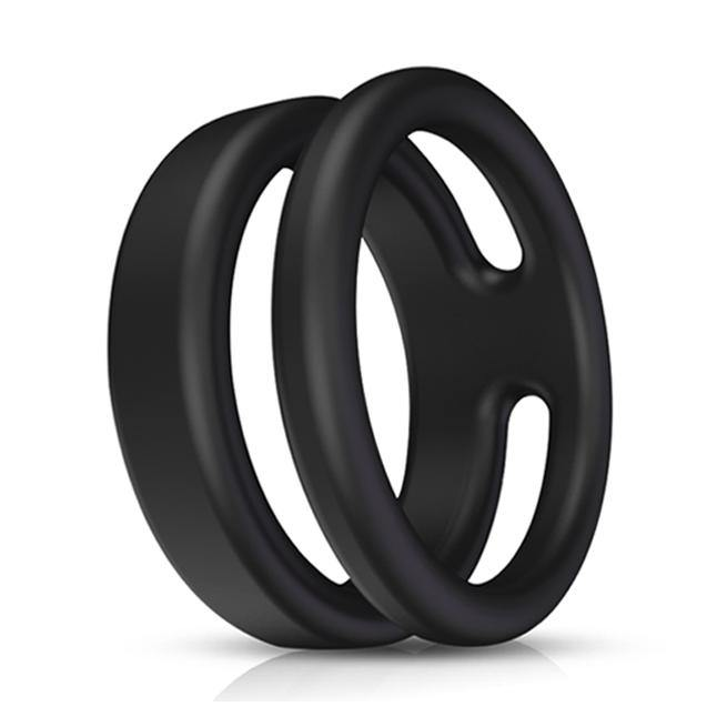 PHANXY Silicone Dual Penis Ring Adjustable Cock Ring 118-4 - PHANXY