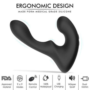 Wave-Motion Vibrating Prostate Massager