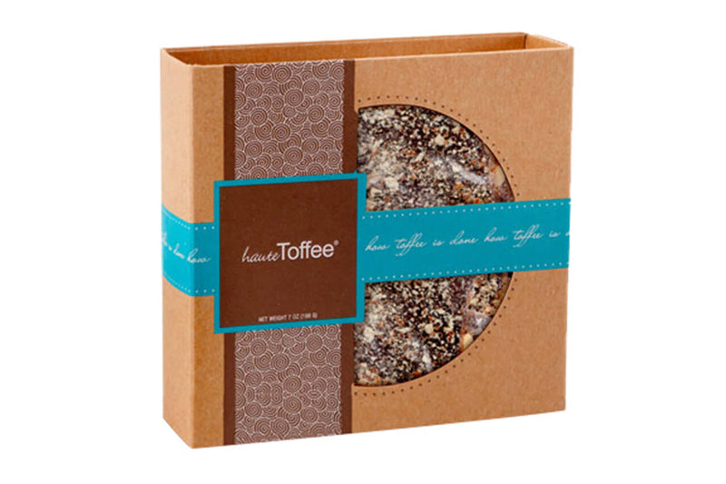 7 oz. Box of English toffee