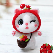 Load image into Gallery viewer, (Finished) Kitten with lovely Headgear