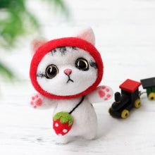Load image into Gallery viewer, (DIY Package) Kitten with lovely Headgear