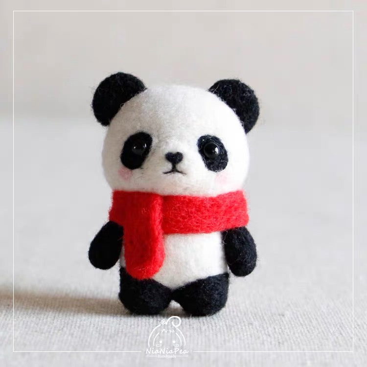 (DIY Package) Cute Little Animal With Scarf