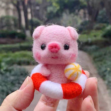 Load image into Gallery viewer, (DIY Package) Piggy with a swimming ring