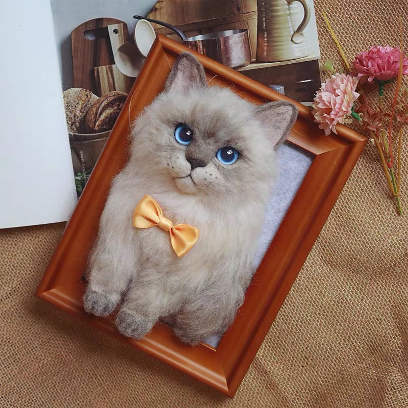 (Custom) Extremely Simulated Bionic Cat Photo frame