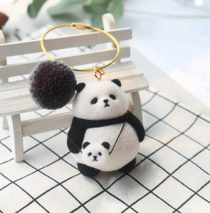 (DIY Package) Chubby Panda Pendant