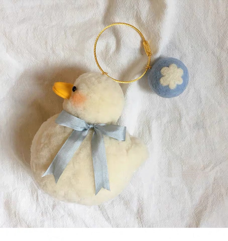 (Finished) White Pet Duck