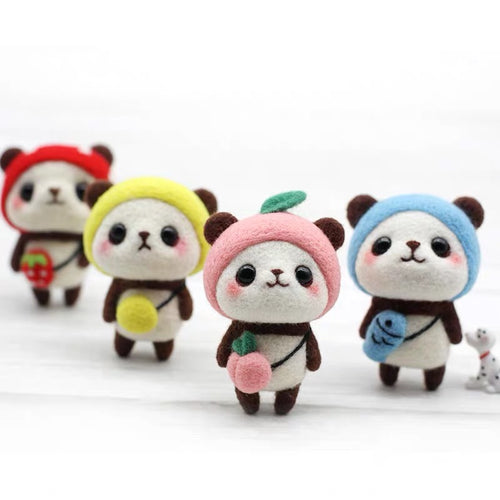 (DIY Package) Color backpack panda