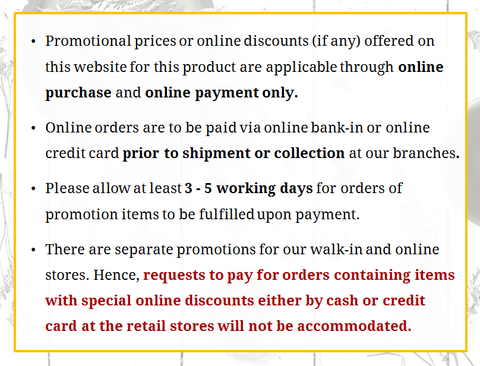 Promotion Terms and Conditions