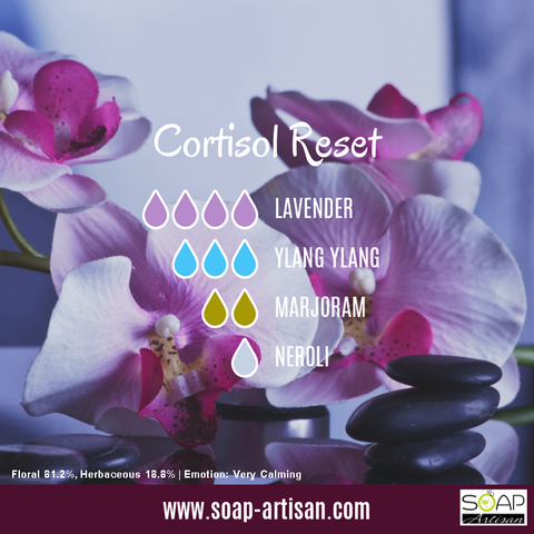 Soap Artisan | Cortisol Reset with Marjoram