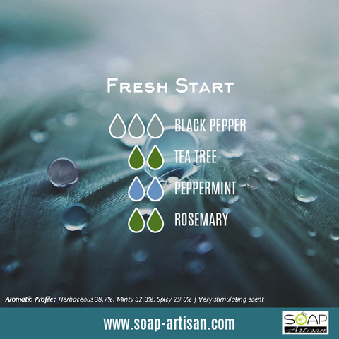 Soap Artisan | Fresh Start Blend with Black Pepper