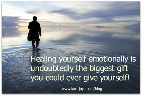 Healing Emotionally: Kari Joy Quote