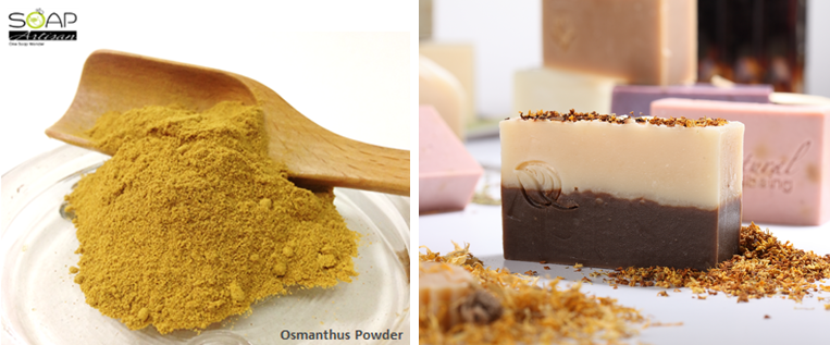 Soap Artisan | Osmanthus Powder and Soap