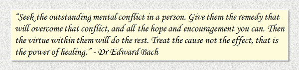 Quote by Edward Bach