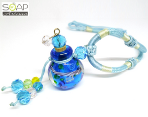 Soap Artisan | Aromatherapy Pendant - Light Blue