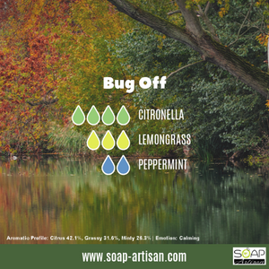 Soap Artisan | Bug Off Blend with Citronella