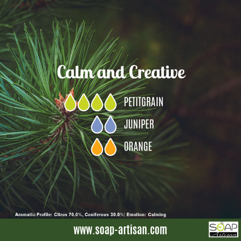 Soap Artisan | Calm and Creative with Petitgrain