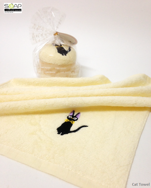 Soap Artisan | Curious Cat 100% Cotton Towel
