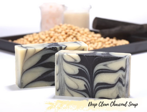 Soap Artisan | Deep Clean Charcoal Soap