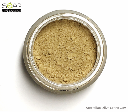 Soap Artisan | Australian Olive Green Clay