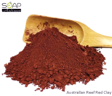 Soap Artisan | Australian Reef Red Clay