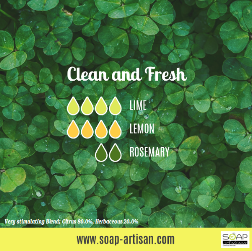 Soap Artisan | Clean and Fresh Essential Oil Blend with Lemon