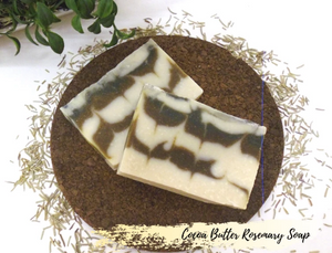 Cocoa Butter Rosemary Soap 可可脂迷迭香皂